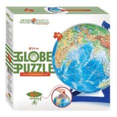 Пазл-шар Глобус, физическая карта мира
