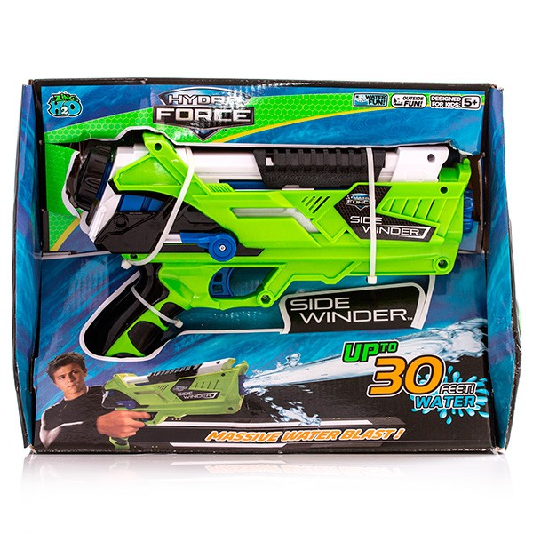 Игрушечное оружие Гидрофорс со съемным картриджем