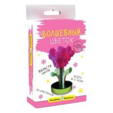 Набор для выращивания Волшебные кристаллы. Розовый цветок