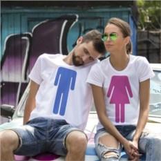 Парные футболки Мальчик и Девочка