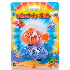 Игрушка для ванной Набор заводных рыбок