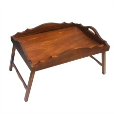 Столик для завтрака в постель с фигурными бортиками