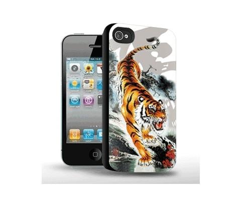 Панель для iPhone 4/4S «Тигр»