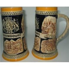 Пивная коллекционная кружка Люксембург