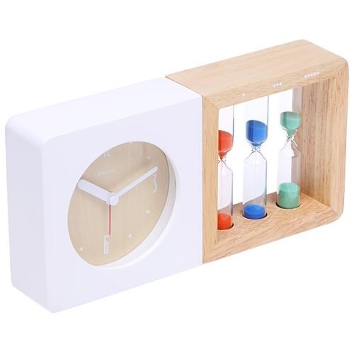 Часы с будильником «Geekclock»
