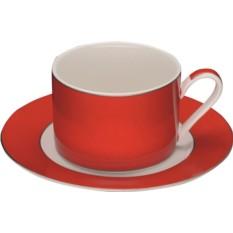 Красная чайная пара Риом