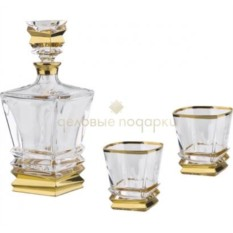 Набор из графина и 2 стаканов для виски