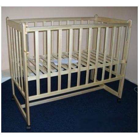 Детская кроватка CKB-2 (колёса, качалка)