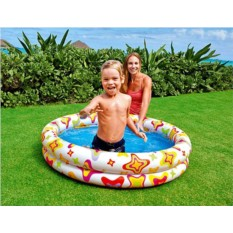 Надувной бассейн Звёзды для детей от 3 до 6 лет