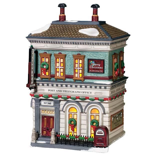 Новогодний сувенир «Почта и телеграф»