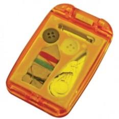 Швейный набор с зеркалом (цвет — оранжевый)