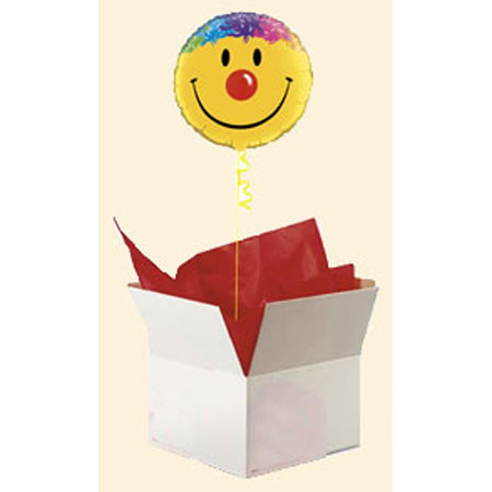 Шар в коробке «Улыбка»
