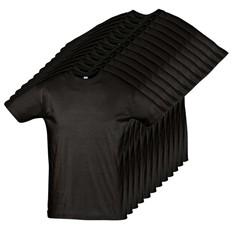 Годовой запас футболок, 12 штук (темные)