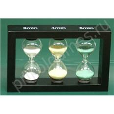 Оригинальные песочные часы на 3 4 и 5 минут