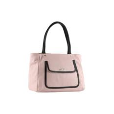 Розовая женская сумка Palio из натуральной кожи