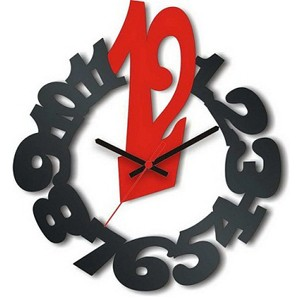 Настенные часы Восклицание