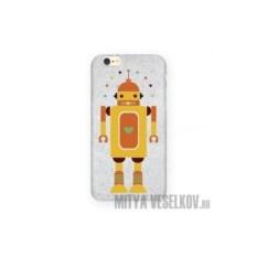 Чехол для IPhone 6 Влюбленный робот