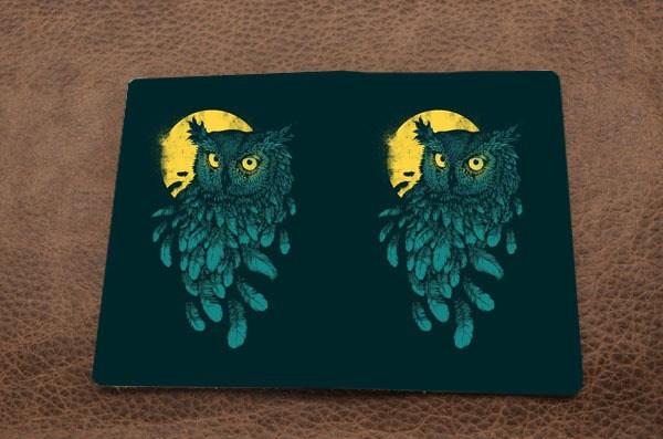 Обложка на паспорт «Промо – Ночная сова»