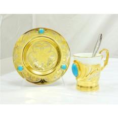 Чайная пара «Бирюза»