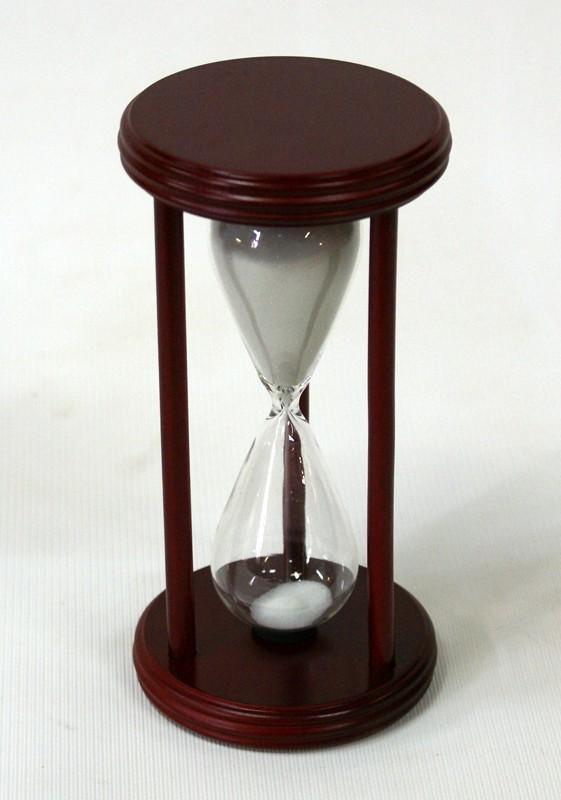 Песочные часы на 30 минут (белый песок)