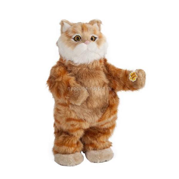 Интерактивная игрушка Рыжий кот Клео