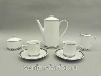 Кофейный сервиз Leander Сабина на 6 персон