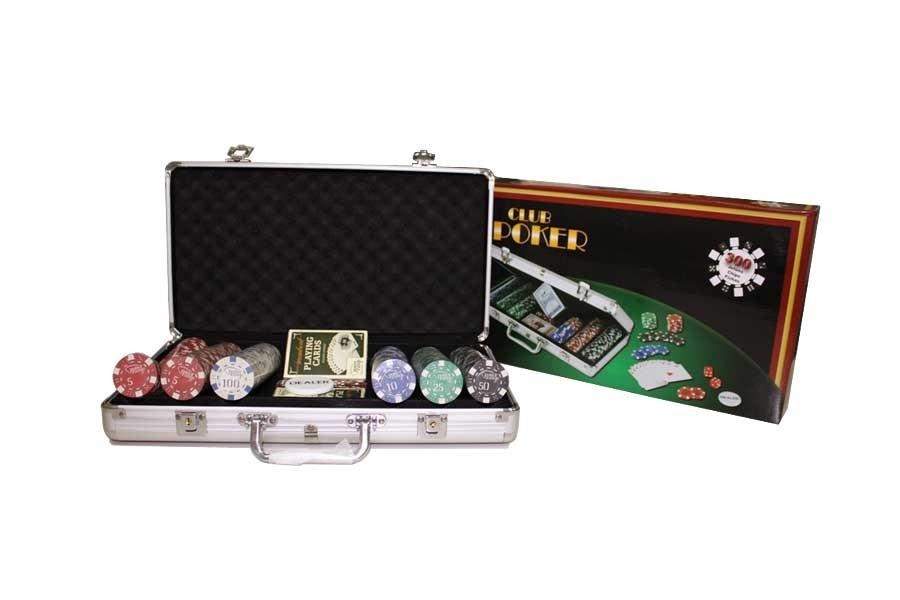 Набор для покера WKL-30063 (300 фишек)
