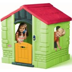 Зеленый игровой домик LittleTikes
