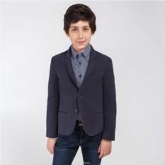 Темно-синий пиджак для мальчика Acoola