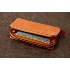 Оранжевый кошелек G.Ferretti