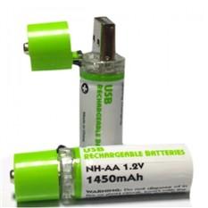Аккумуляторы с зарядкой от USB