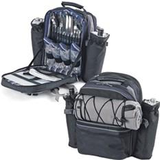 Набор для пикника на 4 персоны в рюкзаке Экспедиция