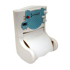 Держатель туалетной бумаги с радио Музыкальное утро