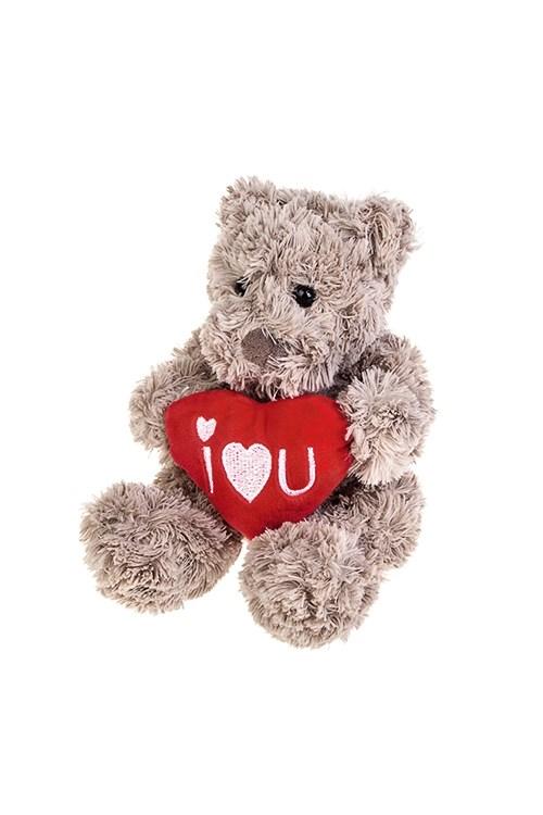 Мягкая игрушка Влюбленный мишка с сердцем