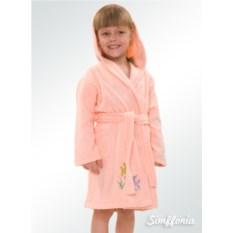 Детский халат Bambino 2 Cleanelly (цвет: розовый)