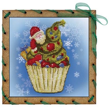 Набор для вышивания Рождественское пирожное