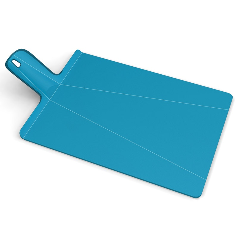 Разделочная доска Chop2Pot™ Plus, большая, голубая