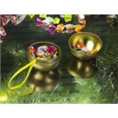 Елочный шар-шкатулка для подарка