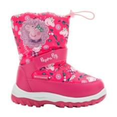 Розовые сноубутсы Peppa Pig