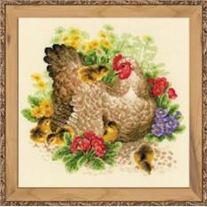 Набор для вышивания Курица