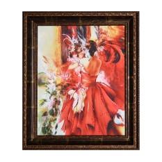 Картина Swarovski Королева бала