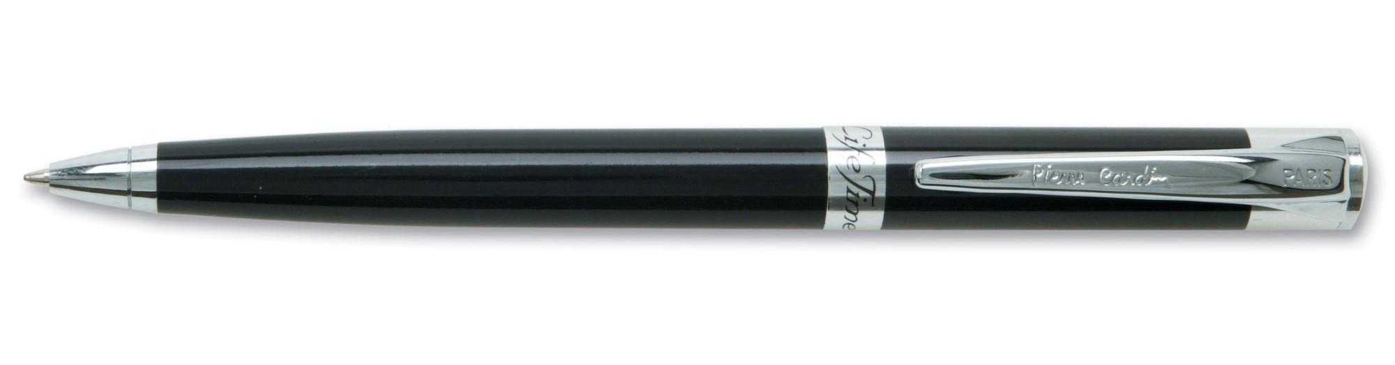 Черная лаковая шариковая ручка Pierre Cardin Gamme