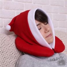 Подголовник с капюшоном Санта