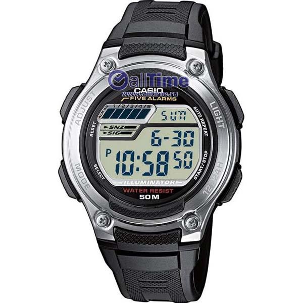 Мужские часы Casio (Электроника W-212H-1A)