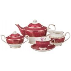 Чайный сервиз на 6 персон Английские розы
