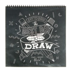 Скетчбук Best day to draw
