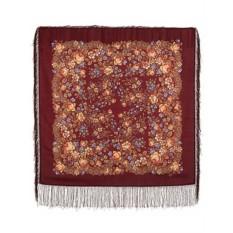 Павловопосадский шерстяной платок Мария