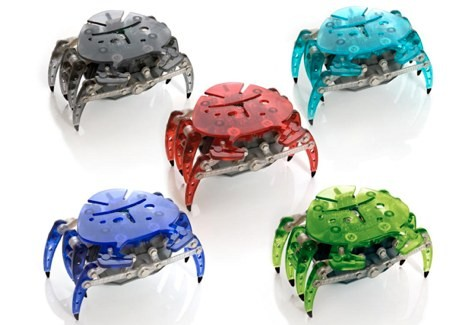 Микроробот Краб, разные цвета