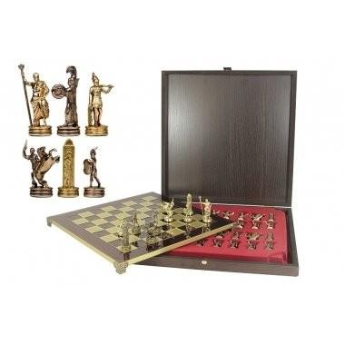 Металлические шахматы «Троянская война»