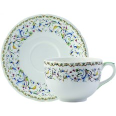 Большая чайная пара Gien Тоскана